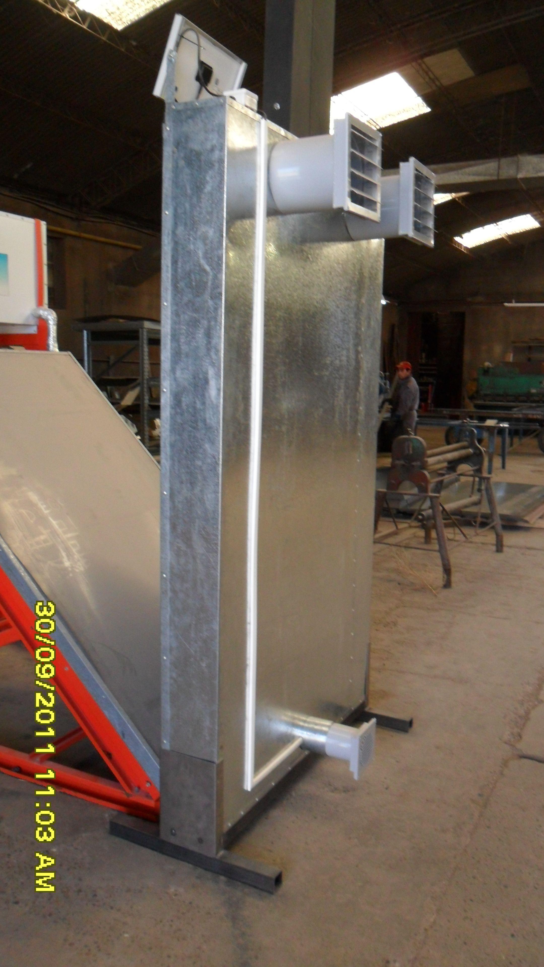 Acondicionador De Aire Hogare Solar El Cual Produce En