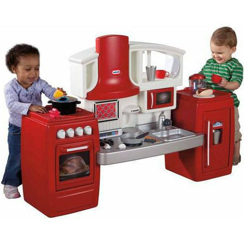 Cook N Grow Kitchen Set Little Tikes Kids Pretend Play Toy Bbq Grill Cooking Littletikes
