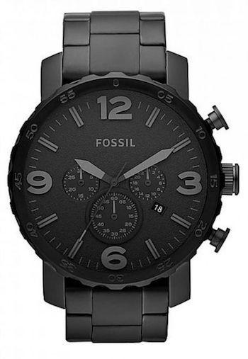 1a8e64b61528b Caixa preta, mostrador preto, pulseira preta e ponteiro preto. Veja uma  seleção de relógios todo pretos para comprar a partir de R  105 até R  2389.