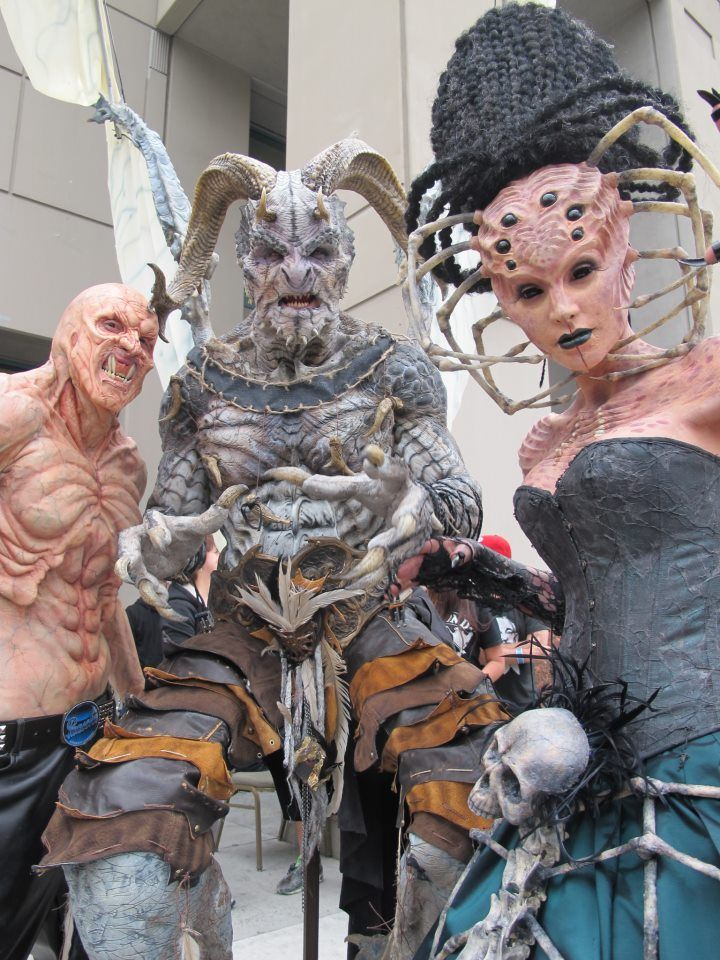 Get ready for MONSTERPALOOZA photos!!! Special effects