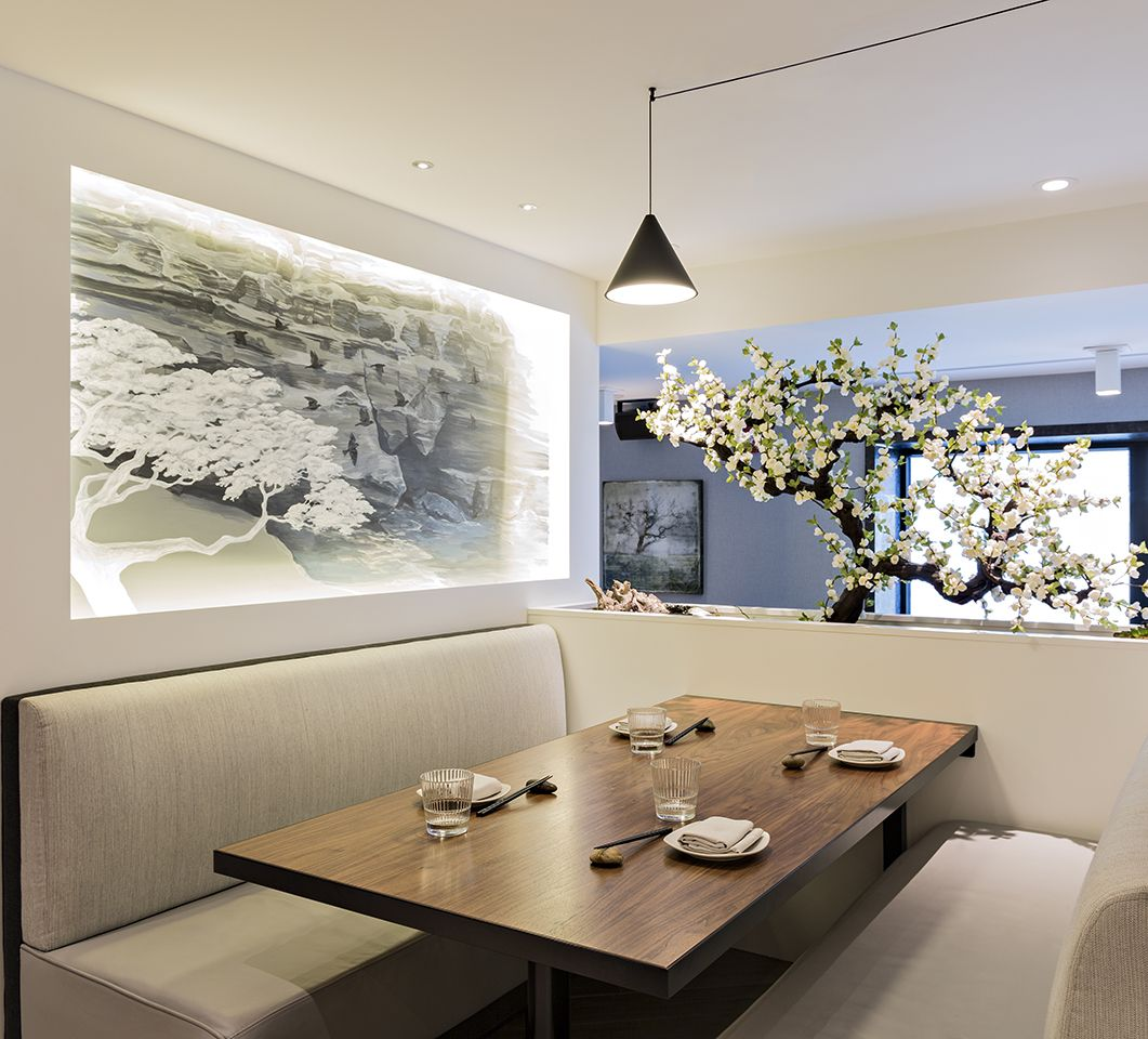 Kasa moto japanese restaurant interiors by ii by iv for Kasa diseno interior