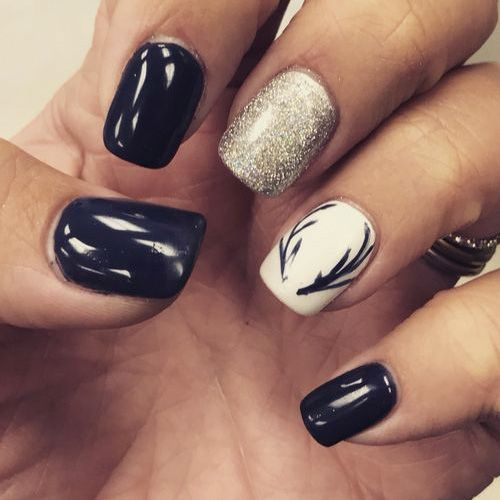 Best Winter Nails for 2018 - 67 Trending Winter Nail Designs - Best Winter Nails For 2018 - 67 Trending Winter Nail Designs
