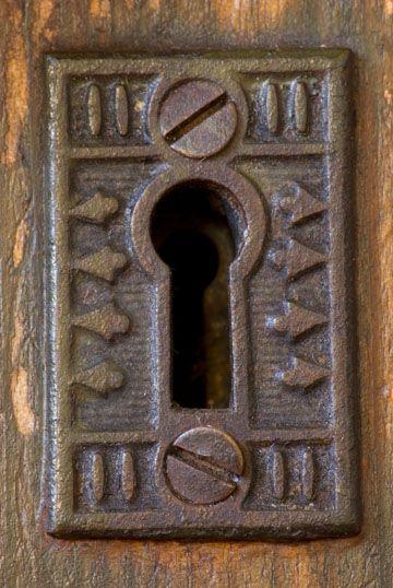 Keyhole serrures pinterest serrure cl s et poign e for Poignet porte fenetre