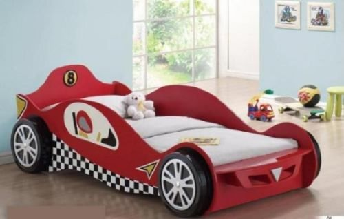 Cama con forma de carro camas para ninos con colchon bsf favorite places spaces - Camas de coches para ninos ...