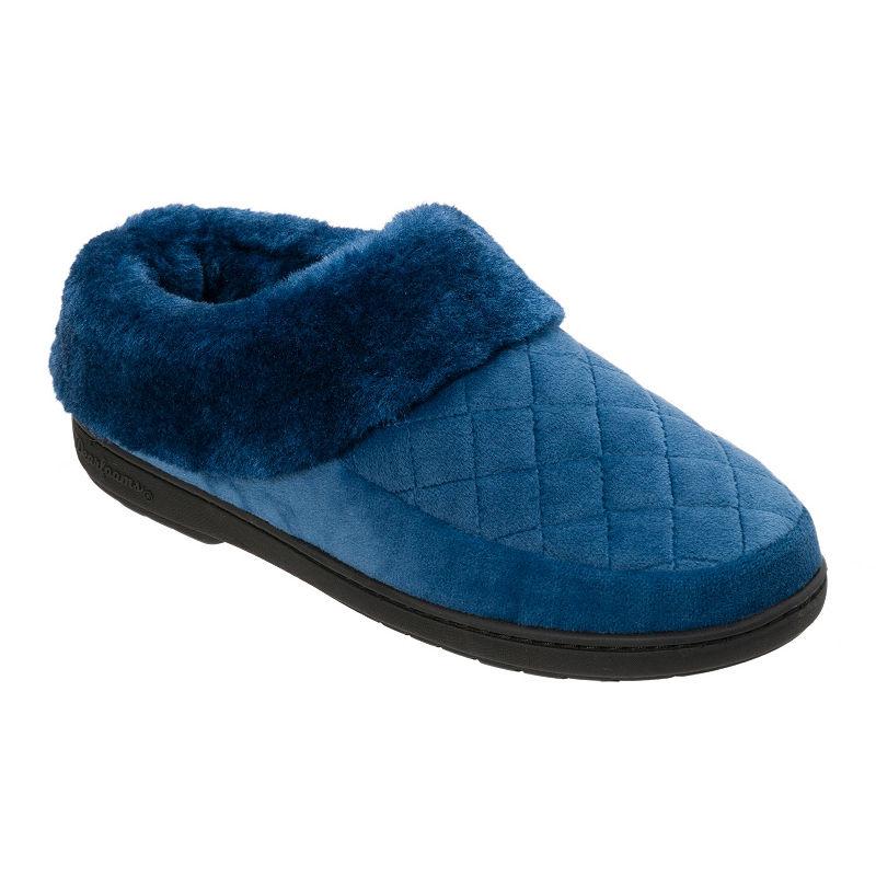 b5b5db0b689792 Dearfoams Womens Memory Foam Clog Slippers