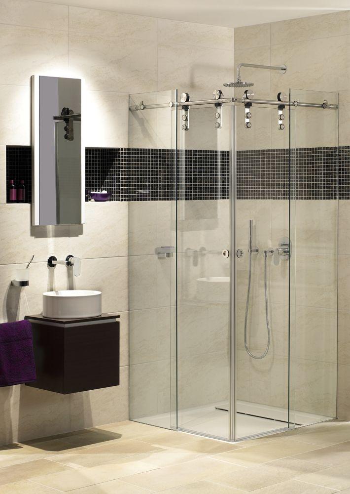 Duschen mit Eckeinstieg sind die Ideale Lösung für kleine