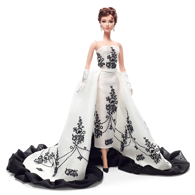 Hepburn-Sabrina-Barbie-Matel-Collectors Edition | Barbie ...