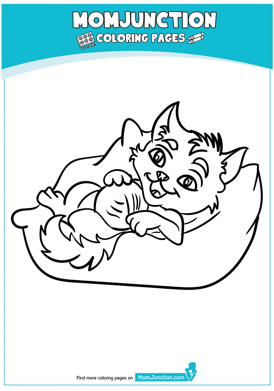 Funny Cat Sleeping Coloring Pages Cat Coloring Page Cat Sleeping