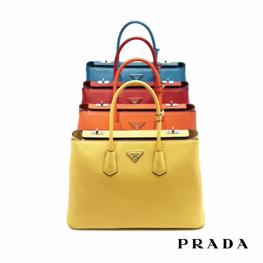 PRADA Twin Bag  5cdc8e37bc38b