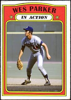 """WHEN TOPPS HAD (BASE)BALLS!: MISSING IN ACTION """"IN ACTION: #61: WES PARKER"""