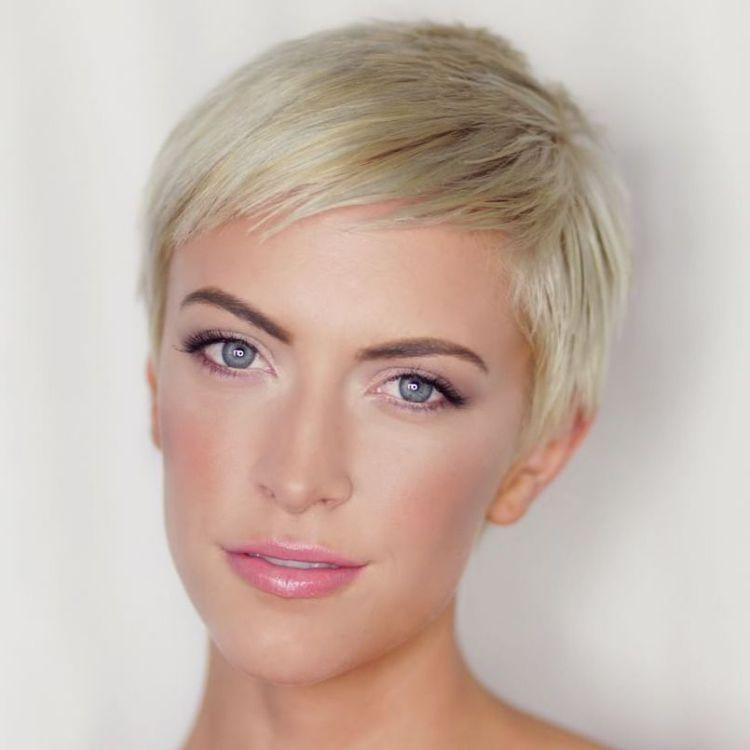 Short Blonde Pixie Haircut                                                                                                                                                     More                                                                                                                                                                                 More