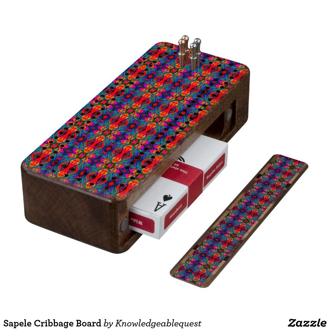 Sapele Cribbage Board | Cribbage Boards | Pinterest