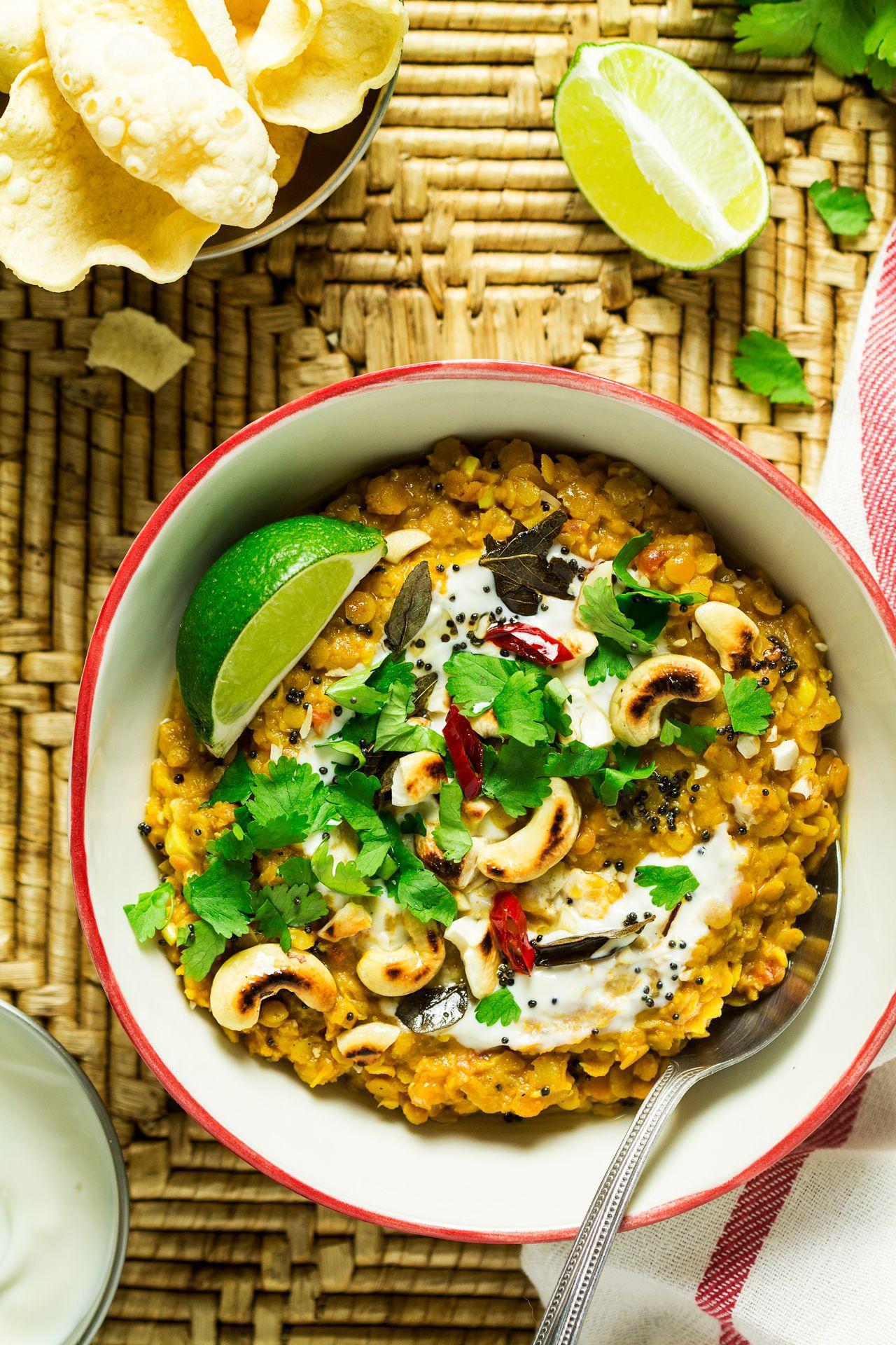 Vegan red lentil dhal Recipe Lazy cat kitchen, Dhal