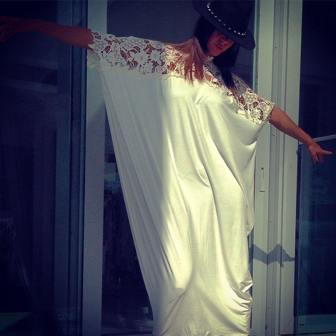 Modern Bohemian Wedding Dress