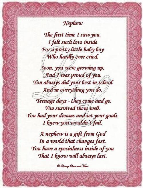 Nephew Poems 2