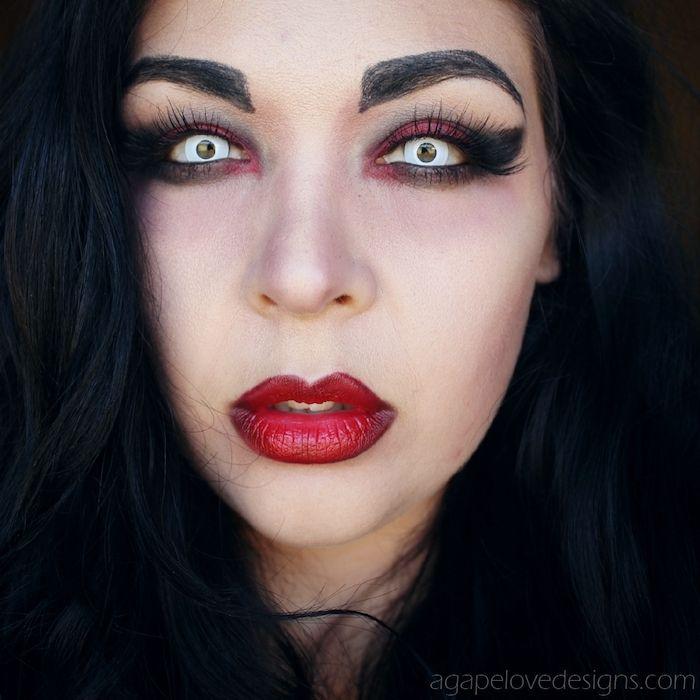 vampirgesicht schminken - 29 einmalige ideen! - archzine