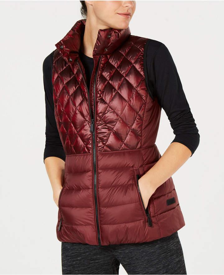 Calvin Klein Quilted Down Vest Blazer Jackets For Women Parka Jacket Women Jackets For Women
