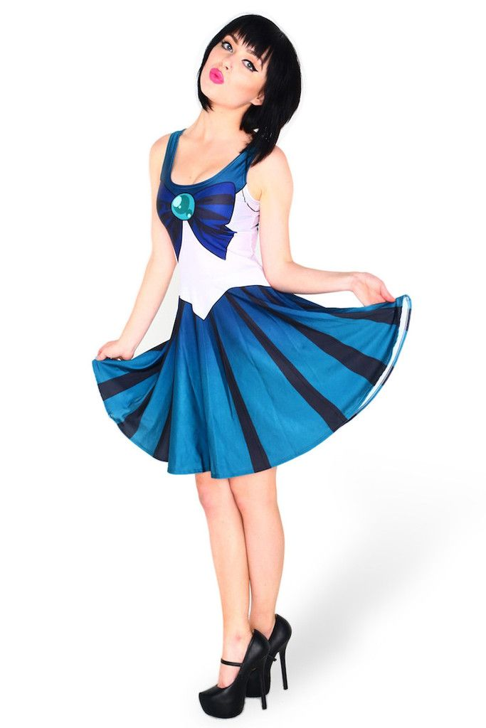 5c94c119ee2b Sailor Neptune skater dress | Sm wants | Sailor fancy dress, Sailor ...