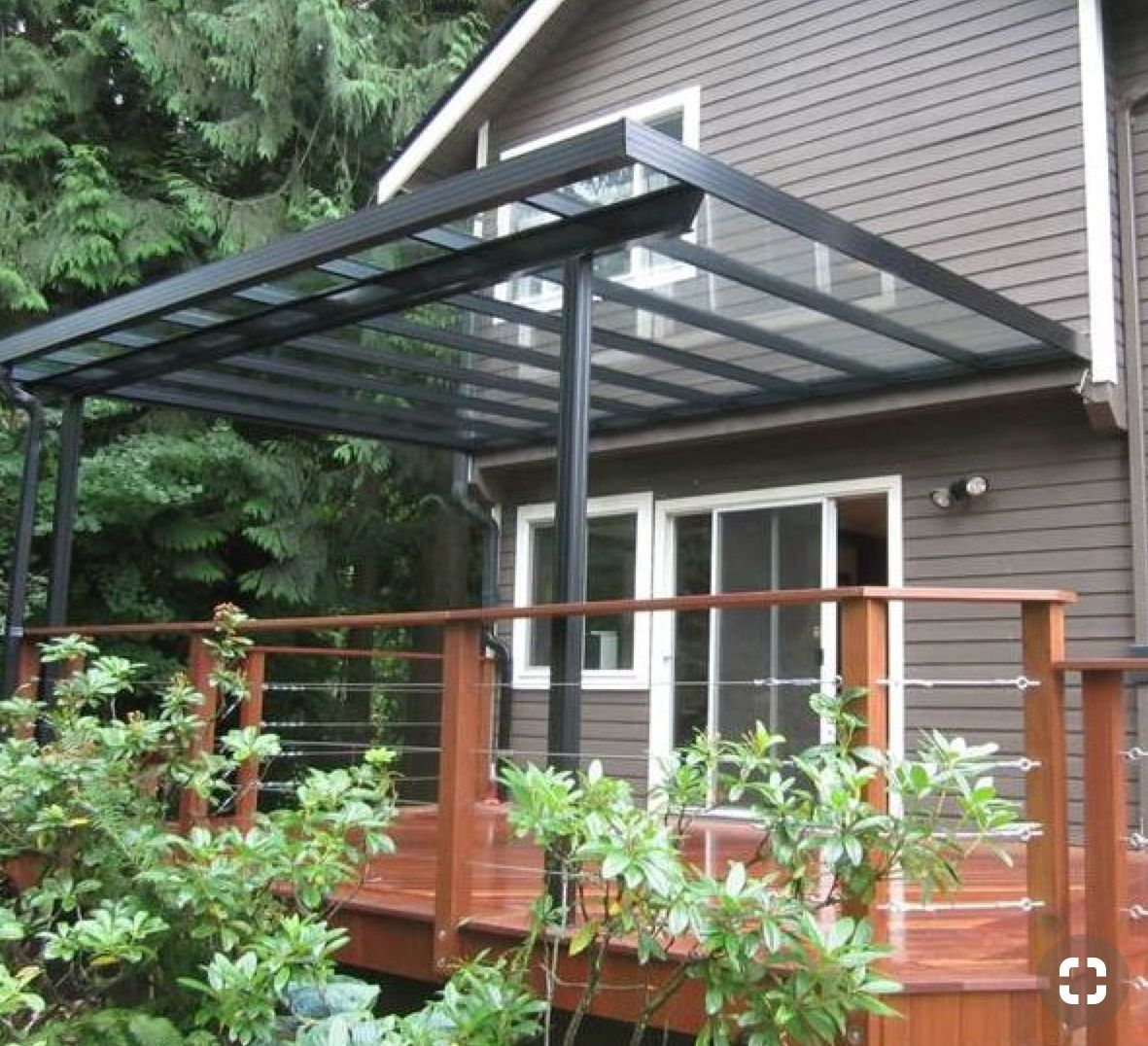 Pin By Anchana Ploypraw On Home Garden Deck Awnings Deck With Pergola Outdoor Awnings