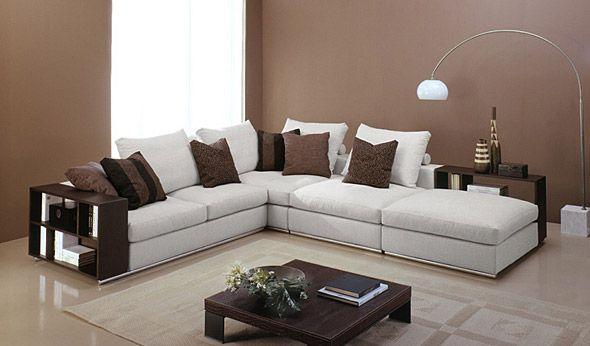 Il divano moderno free di tino mariani sicuramente il - Prodotti per pulire il divano in tessuto ...