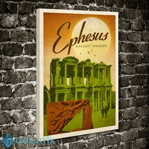 Efes Celcus Kütüphanesi Tablo #kanvas_tablo
