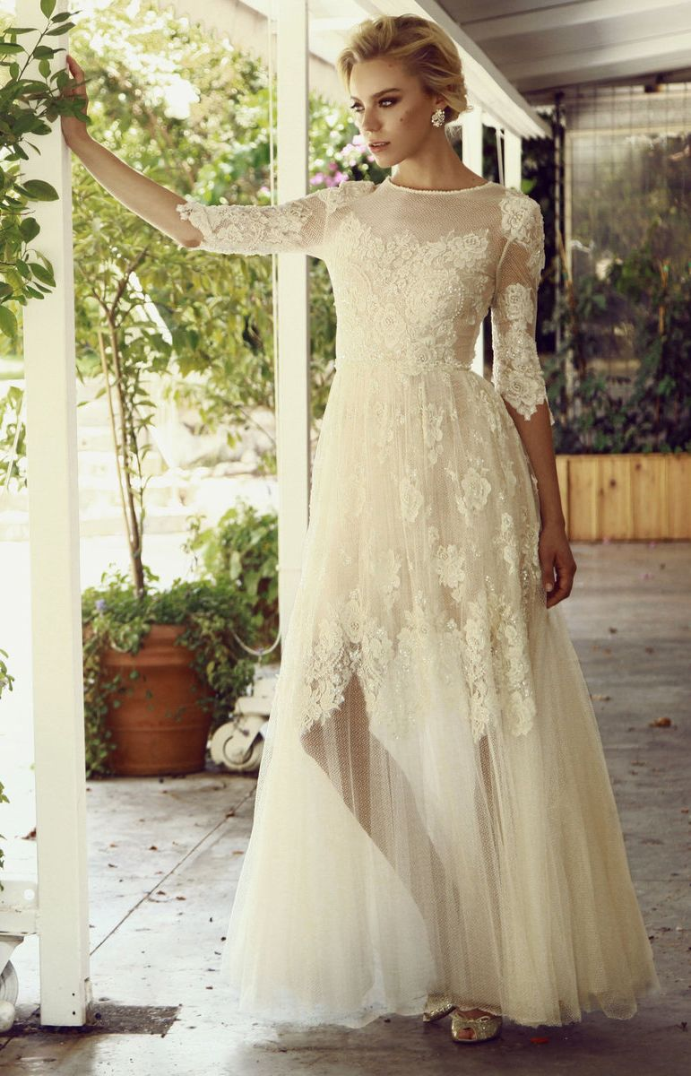 Wedding dresses Chana Marelus Autumn-Winter 2015-2016 | Lace ...
