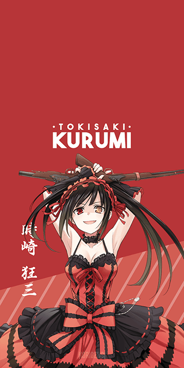 Tokisaki Kurumi - Date A Live Wallpaper