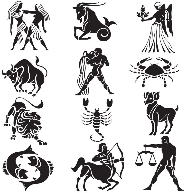 Zodiac Tattoos And Designs: Zodiac Tattoo Designs Hunter