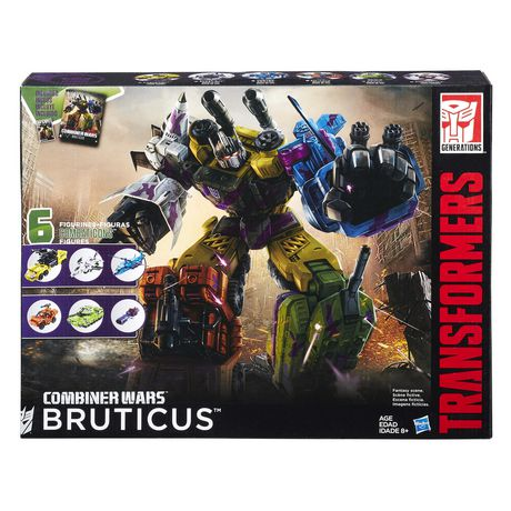 Guns Complete Transformers Generations Combiner Wars G2 Bruticus Onslaught