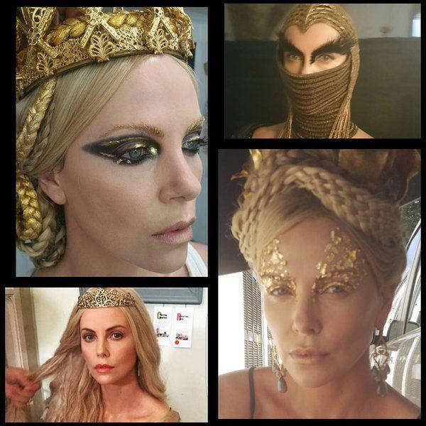 Pin De Lauren Elizabeth Madden En Halloween 2017 Maquillaje De Ojos Artistico Peinados Con Trenzas Figurines De Moda