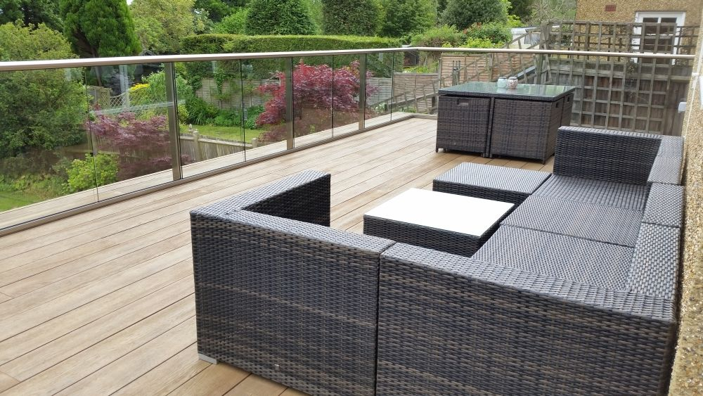 glass balustrade roof terrace google search terrassen. Black Bedroom Furniture Sets. Home Design Ideas