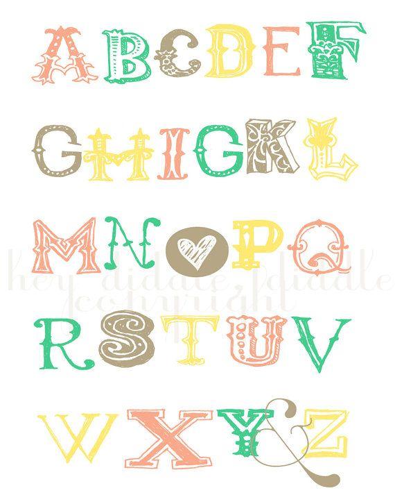 Abc Z Print 10 Funky FontsCreative