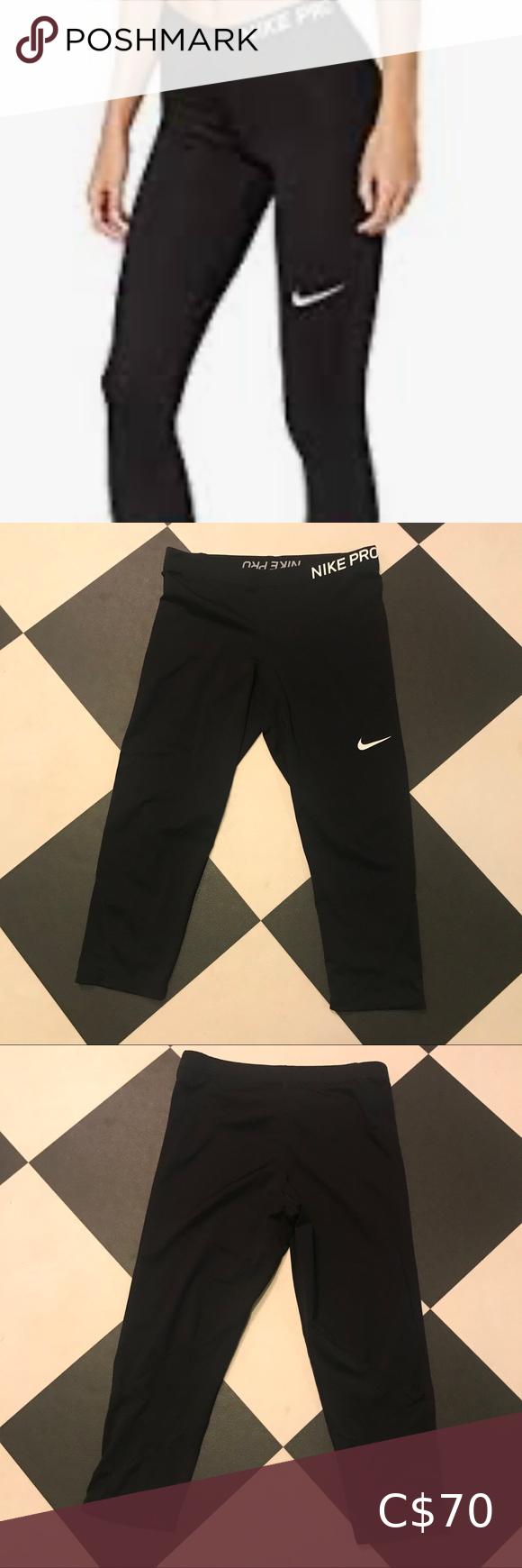 Nike Pro Dri-Fit Black | Pants for women, Nike pros, Dri fit