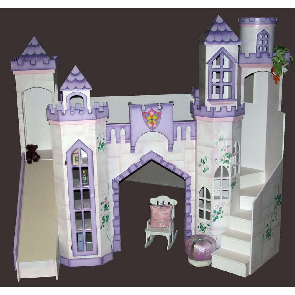 Beds For Kids Girls Princess King Queen Palace Bed Loft
