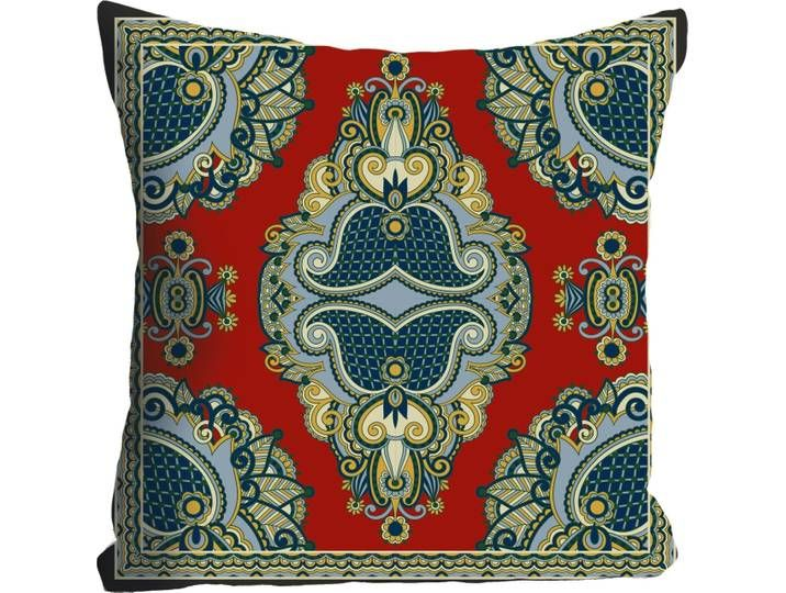 Kissenhulle Ornament Queence In 2020 Throw Pillows Pillows