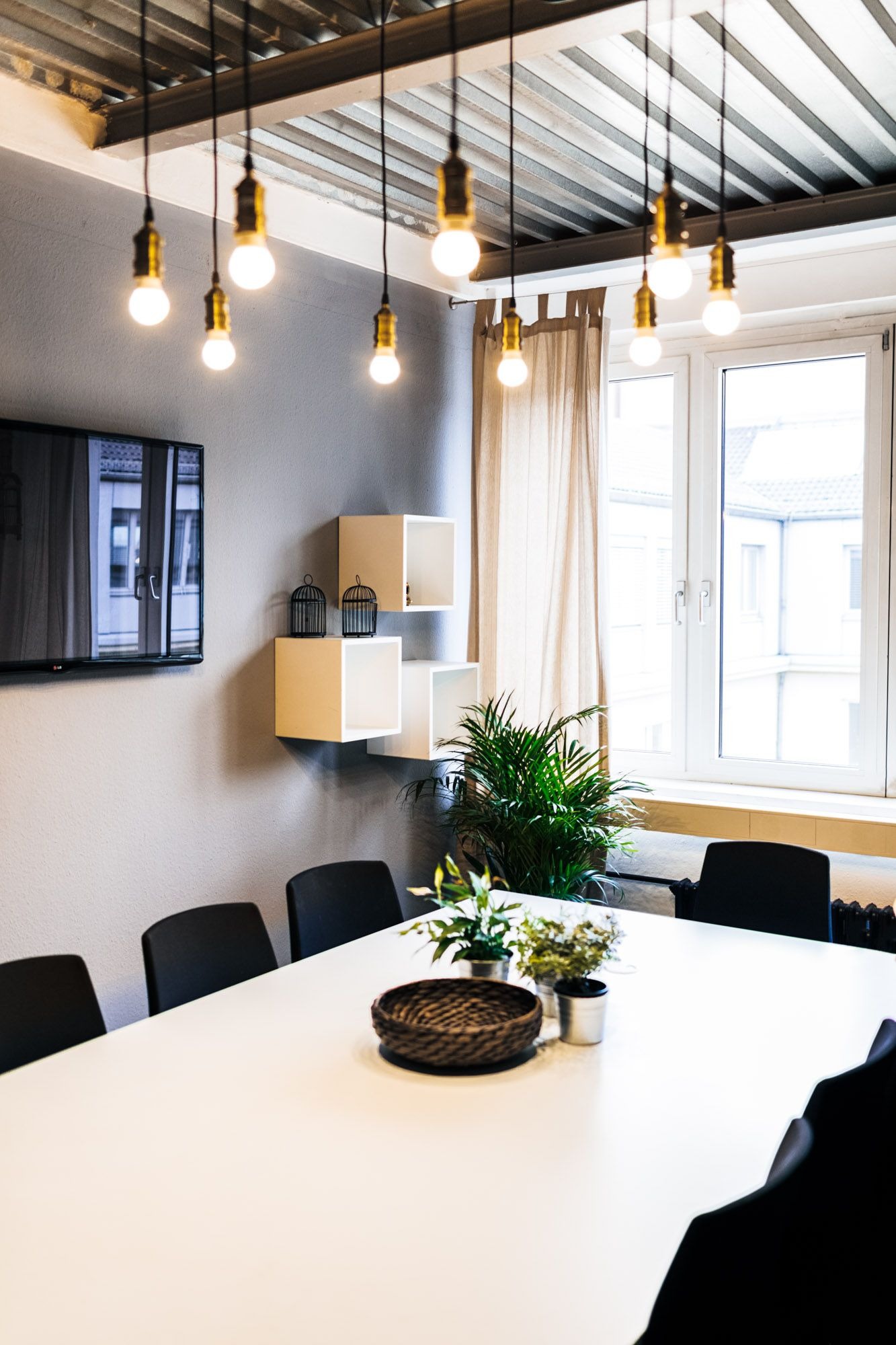 Lighting Effect At Rent24 Coworking Space, Berlin #99Chairs #Meetingroom #Atmosphere