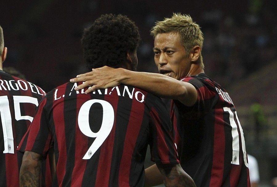 逆襲の本田 イタリア杯1得点1アシストで地元メディア最高点評価ゲット