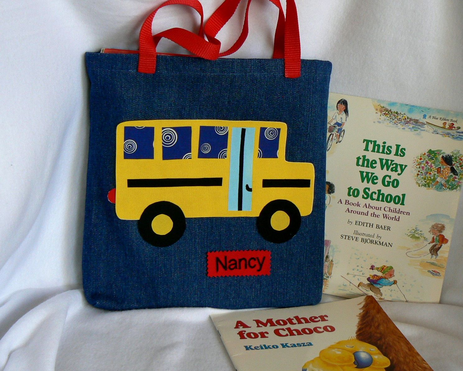 Kids School Bus Book Bags, boys bags and girls bags, children's ...