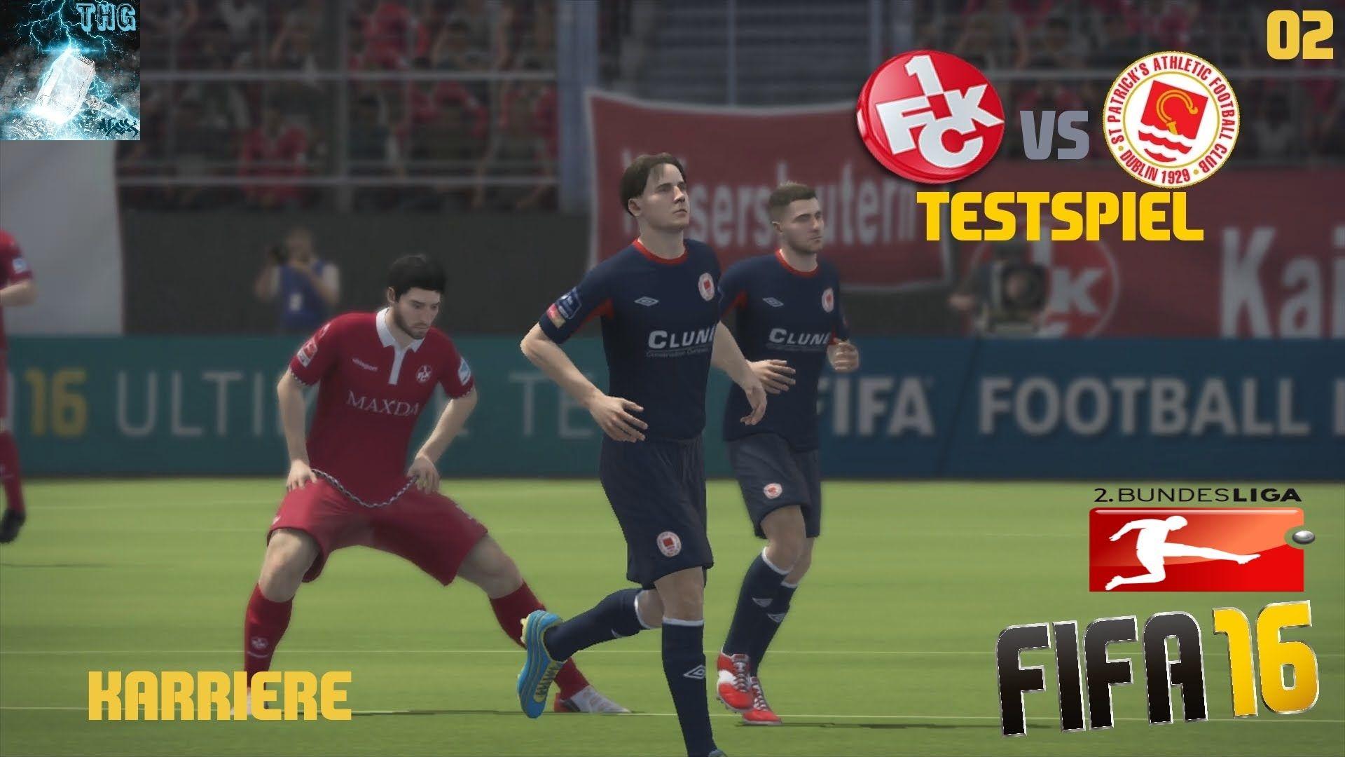 """Let's Play FIFA 16 - Trainer Karriere #002 """"Neuzugänge und Testspiel"""" [X..."""