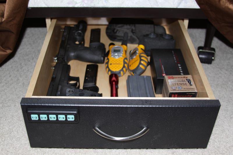 Bedvault Under Bed Locking Drawer By Truckvault Fleet Safety