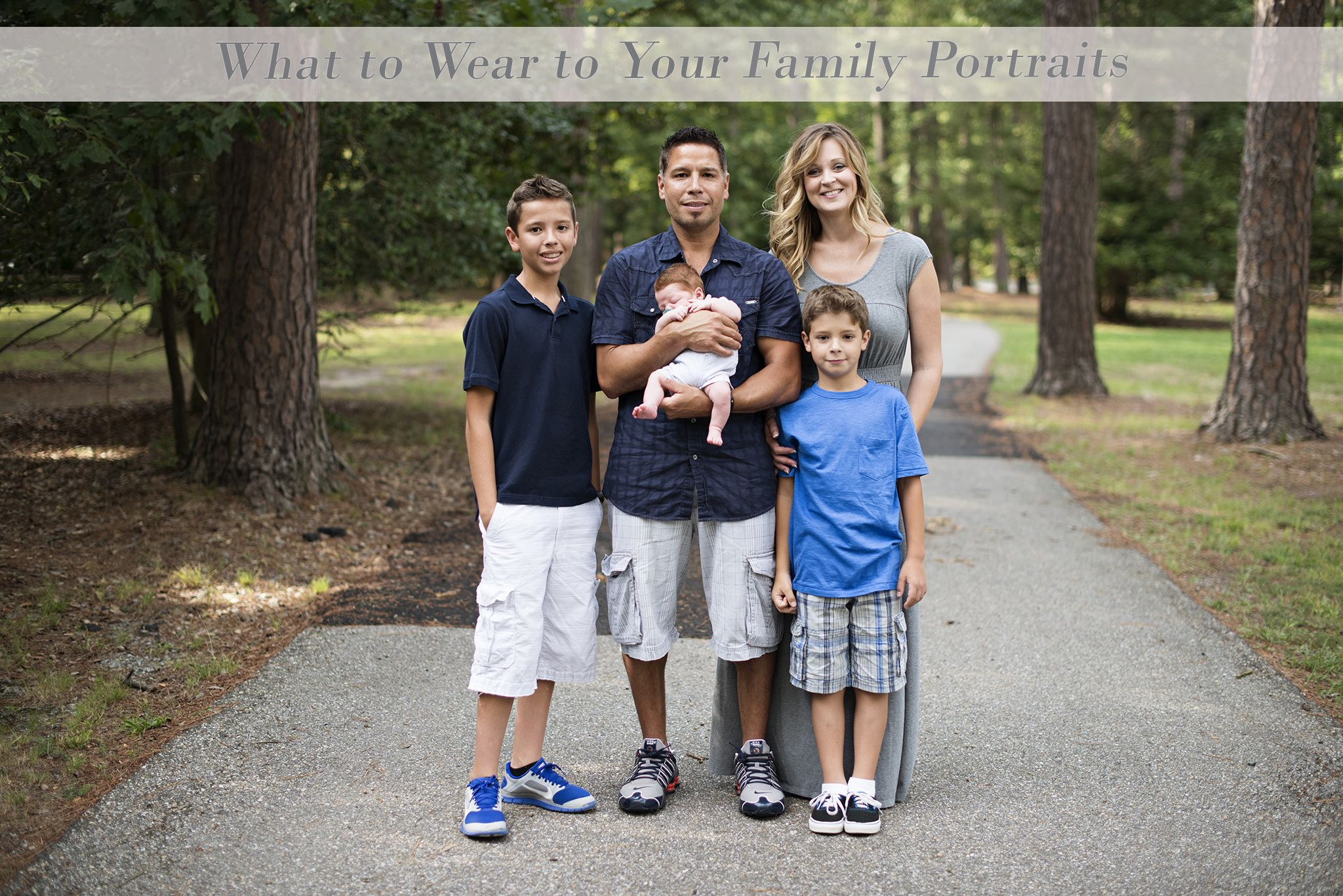 What to Wear: A guide to make your family pictures stand out