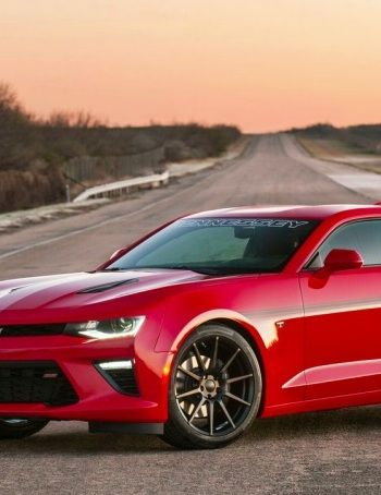 Hennessey Unveiled The Hpe750 Camaro That Breaks The 200 Mph Threshold Carhoots Camaro Hennessey Dream Cars