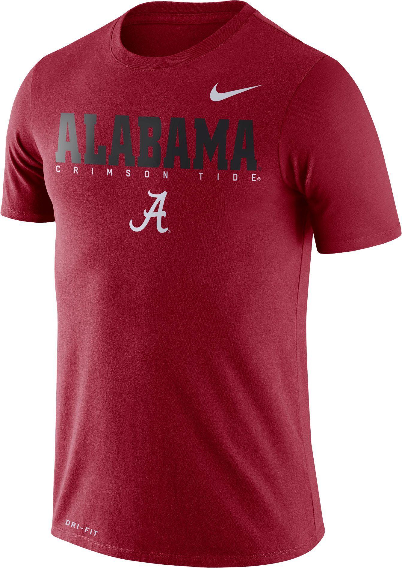 pretty nice 5bb3b 4cf27 Nike Men's Alabama Crimson Tide Crimson Football Dri-FIT ...