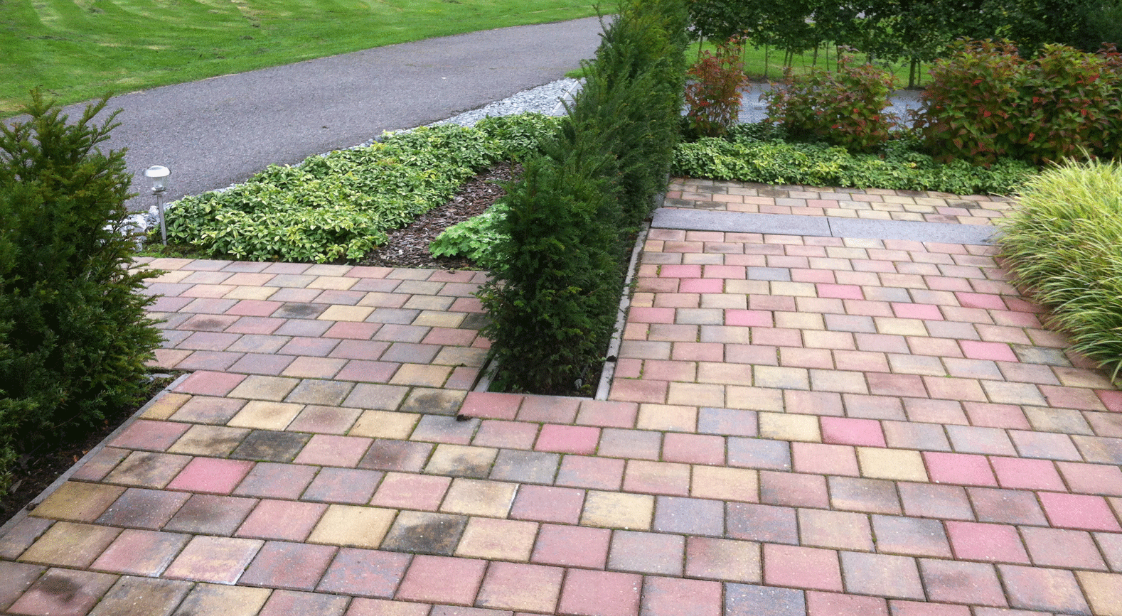 Afbeeldingsresultaat voor bestrating tuin