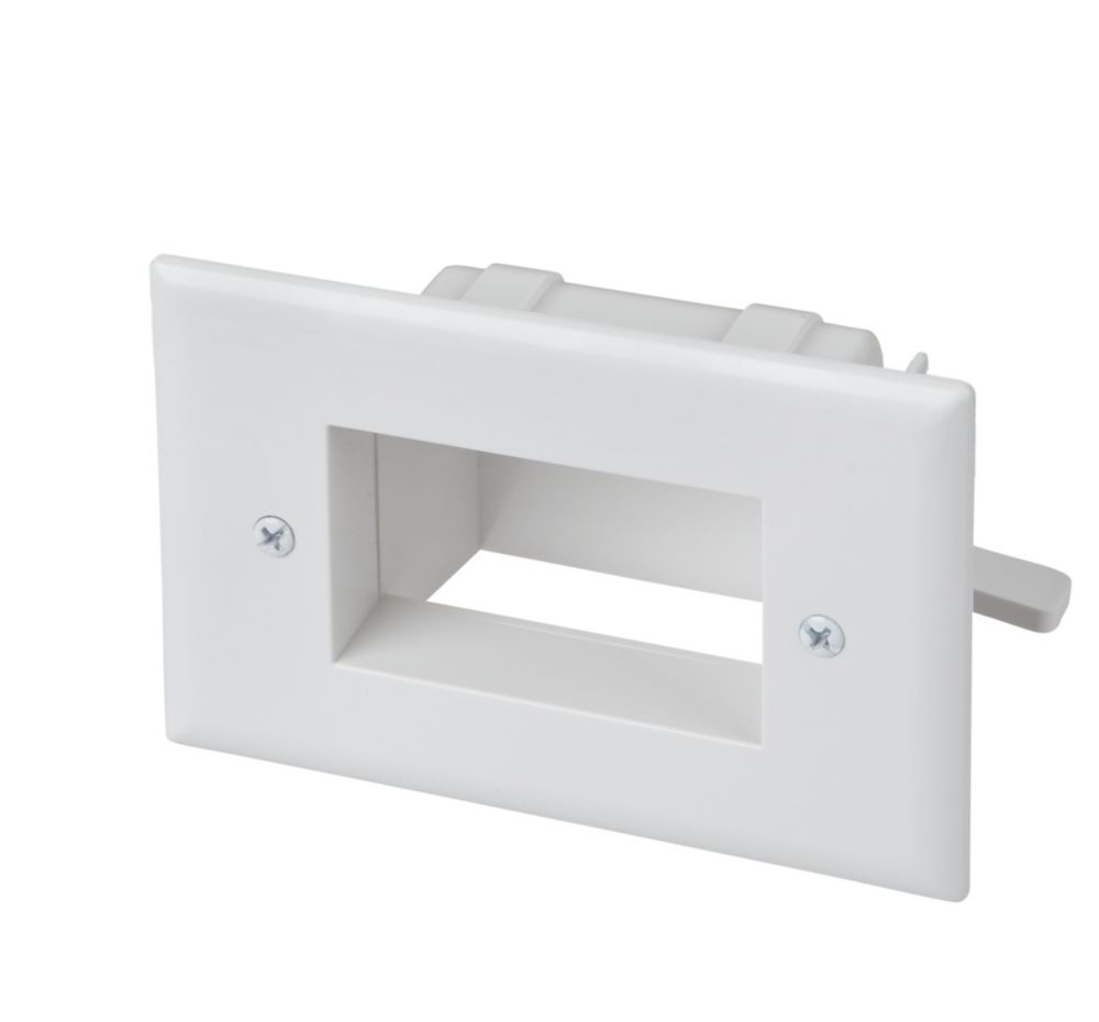 Cetech low voltage recessed cable plate wh the home
