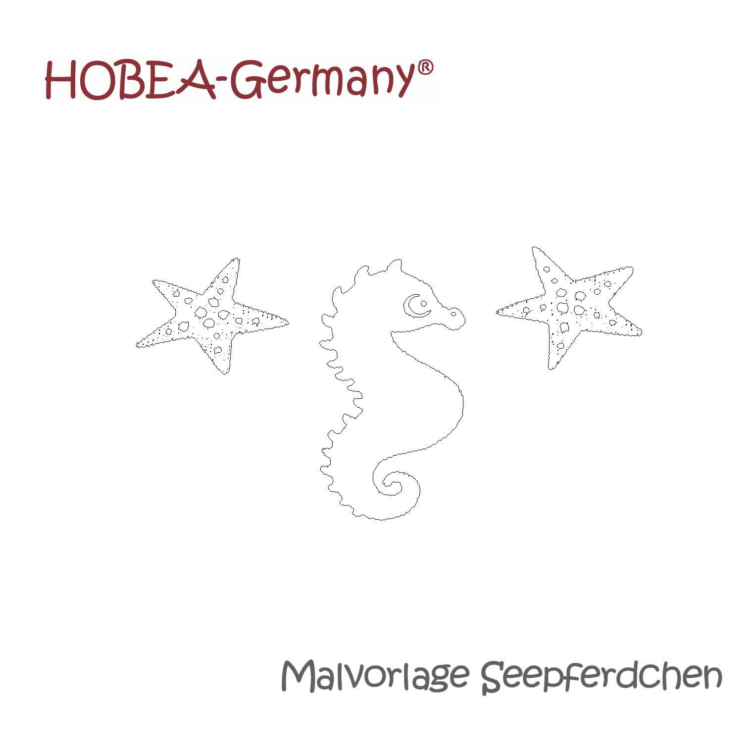 Malvorlage Meerestiere– Ausmalbild für Kinder von HOBEA-Germany ...