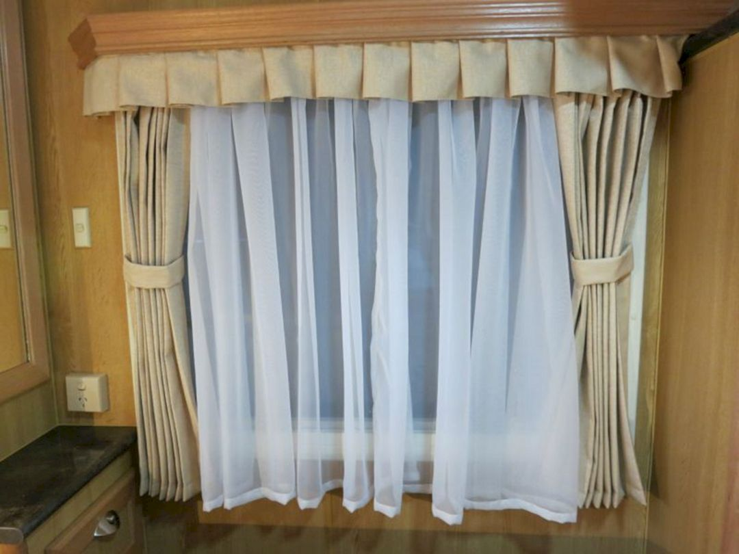 Awesome 25 Beautiful RV Curtain Collections For Inspirations Decoredo
