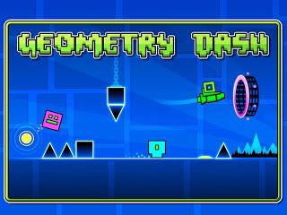 Geometry Dash, Jump and fly your way through danger in this rythm-based action platformer!