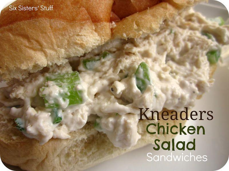 Six Sisters' Stuff: Kneaders Chicken Salad Sandwiches Recipe