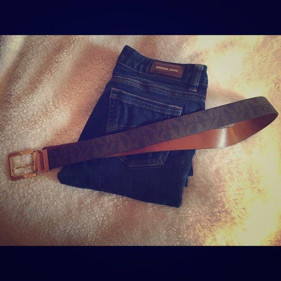 Michael Kors Belt Like new Michael Kors Brown belt! Michael Kors Accessories Belts